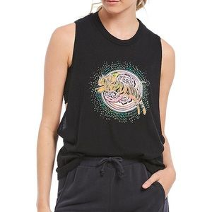Free People Movement | At The Barre Graphic Tank